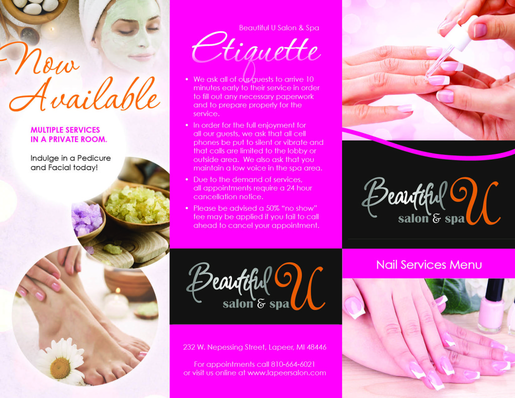 Nail Services Trifold